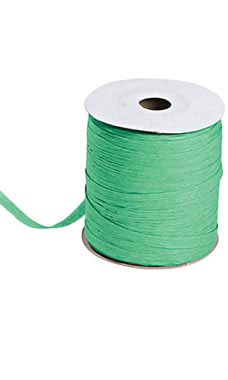 Kelly Green Matte Raffia