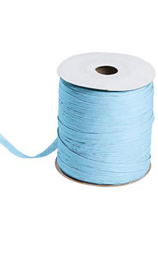 Light Blue Matte Raffia