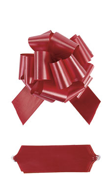 Red Pull Bows - 8 - Case of 50