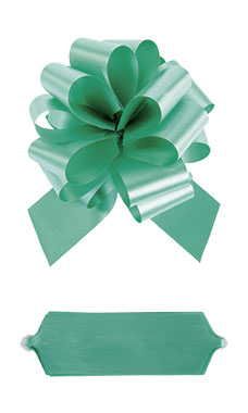 "Emerald 8"" Pull Bows"