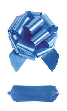 "Royal Blue 8"" Pull Bows"