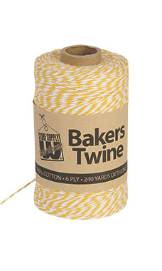 Gold & White Bakers Twine