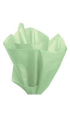 Premium 20 x 30 inch Light Green Tissue Paper