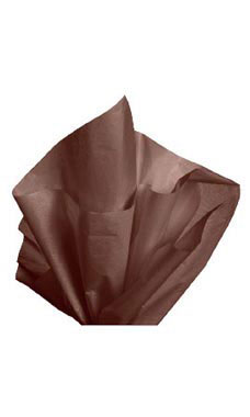 Premium 20 x 30 inch Dark Chocolate Tissue Paper