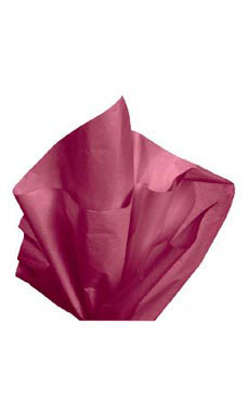 Premium 20 x 30 inch Red Wine Tissue Paper
