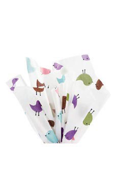 Boutique 20 x 30 inch Little Birdies Tissue Paper