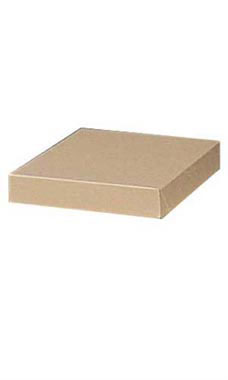 10 x 7 x 1 ¼ inch Kraft Apparel Boxes