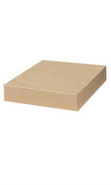 15 x 9 ½ x 2 inch Kraft Apparel Boxes