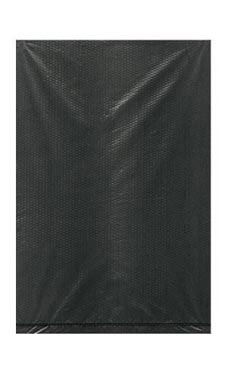 Extra Small High Density Black Plastic Merchandise Bags - Case of 1,000