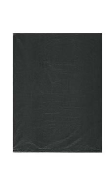 Small High Density Black Plastic Merchandise Bags - Case of 1,000