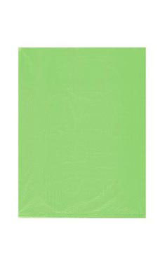 Small High Density Lime Green Plastic Merchandise Bags - Case of 1,000