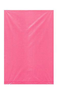 Extra Small High Density Pink Plastic Merchandise Bags - Case of 1,000