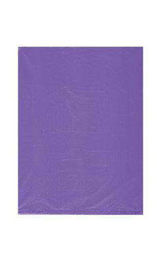 Small High Density Purple Plastic Bags - Case of 1,000