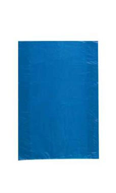Extra Small High Density  Blue Plastic Merchandise Bags - Case of 1,000