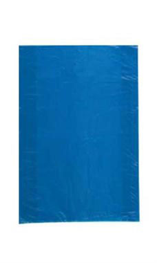 Small High Density Blue Plastic Merchandise Bags - Case of 1,000