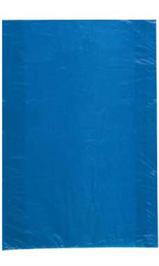 Jumbo High Density Blue Plastic Merchandise Bags - Case of 500