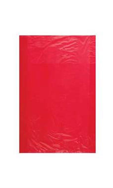 Small Red High-Density Plastic Merchandise Bag