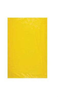 Extra Small High Density Yellow Plastic Merchandise Bags - Case of 1,000