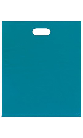 Large Teal Low Density Merchandise Bag