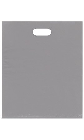 Large Low Density Gray Merchandise Bags - Case of 500