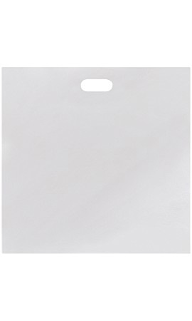 Jumbo Low Density White Merchandise Bags - Case of 500