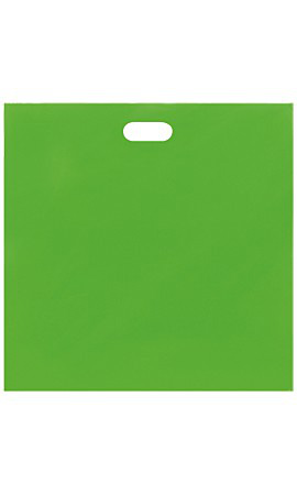 Jumbo Low Density Clearly Lime Merchandise Bags - Case of 500