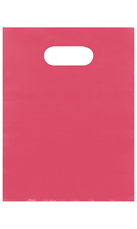 Small Low Density Pink Merchandise Bags - Case of 1,000