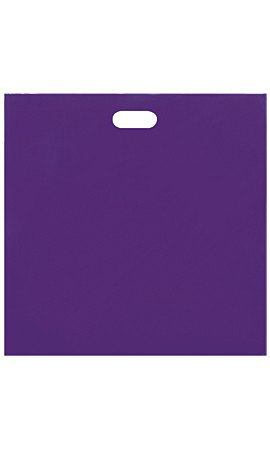 Jumbo Low Density Purple Merchandise Bags - Case of 500