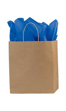 Medium Kraft Premium Folded Top Paper Bags