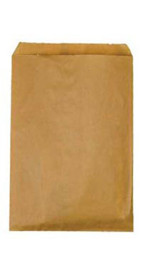 Small Natural Kraft Paper Merchandise Bags - Case of 1,000