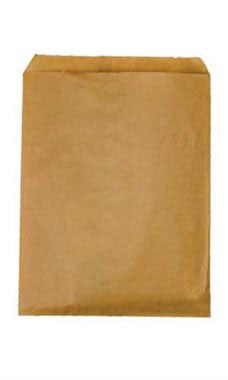 Medium Natural Kraft Paper Merchandise Bags - Case of 1,000