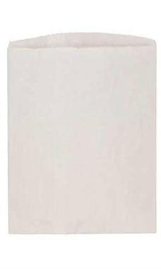 Large White Kraft Paper Merchandise Bags - Case of 1,000