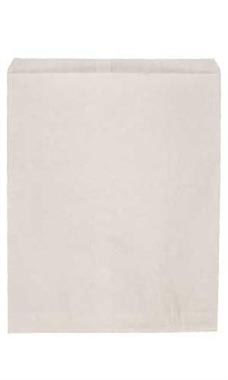 Jumbo White Kraft Paper Merchandise Bags - Case of 500