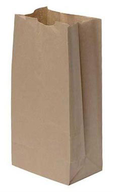 Large Natural Paper Grocery Bags - Case of 1,000