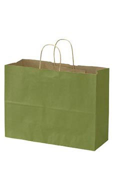 Large Rain Forest Paper Shopping Bags - Case of 100