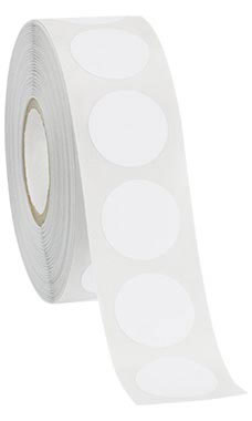 Self-Adhesive White Labels