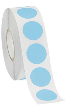 Self-Adhesive Blue Labels