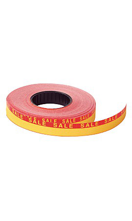Red/Yellow SSW 1-Line Pricing Gun Sales Labels