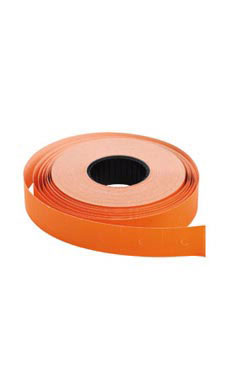 Orange SSW 2-Line Pricing Gun Labels
