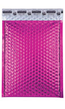 Medium Pink Glamour Bubble Mailers