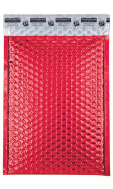 Medium Red Glamour Bubble Mailers