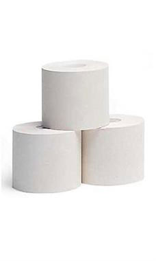2 ¼ inch White 1-Ply Cash Register Tape