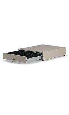 Steel Cash Drawer With Lock and Removable Tray