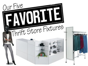 Our Five Favorite Thrift Store Fixtures