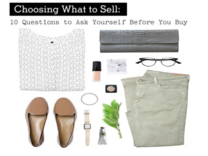 Choosing What to Sell