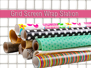 Grid Screen Wrap Station