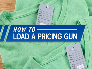 How to Load a Pricing Gun