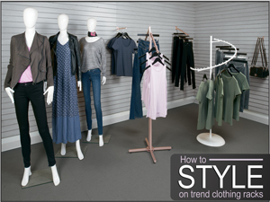 How to Style On-Trend Clothing Racks