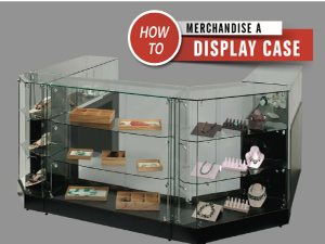 merchandise display case