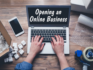 Opening an Online Business